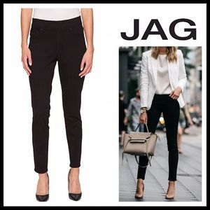 JAG SKINNY STRETCH BLACK DENIM JEAN JEGGINGS A2C